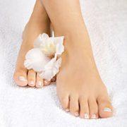 Füße nach Pediküre | hautok und hautok cosmetics