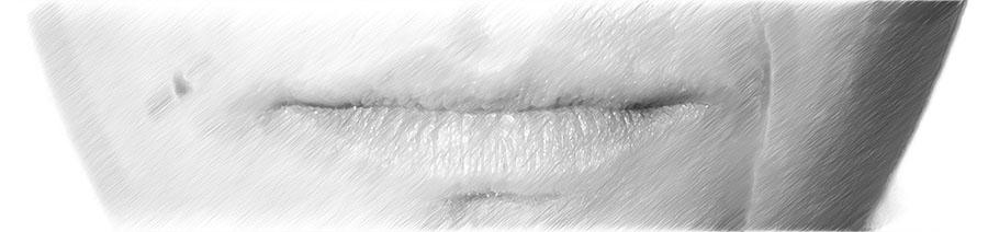 Ästhetische Behandlung Mund Kinn | hautok und hautok cosmetics