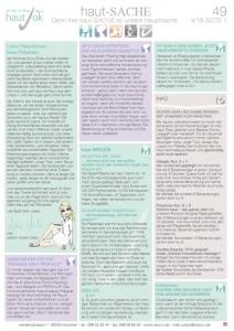 Vorschaubild hautSache Ausgabe 49 | hautOK